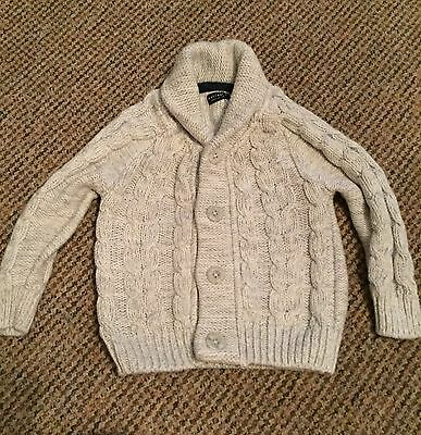 Baby Boys Knitted Cardigan 12-18 Months Next