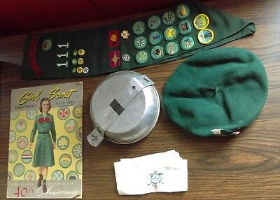 Vintage Girl Scout Items 50's and 60's