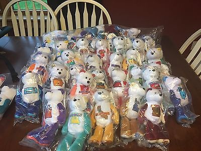 Full Set State Coin Bears. Includes DC, Guam, Virgin Islands, Puerto Rico