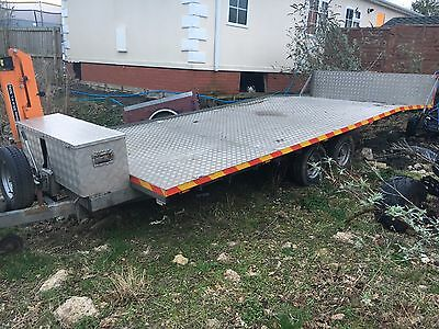 car recovery trailer