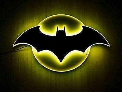Brand New DC Comics Official Store purchase only Batman LED Sign Rare MIB