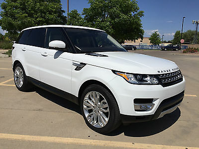 2017 Land Rover Range Rover Sport HSE 2017 Land Rover RANGE ROVER Sport HSE
