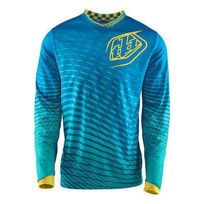 Troy Lee Designs GP Tremor Mens MX/Offroad Jersey Blue/Yellow