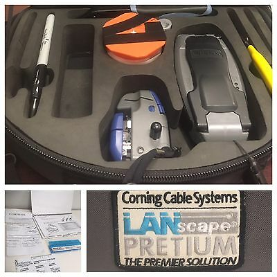 Corning TKT-Unicam-PFC LanScape Fiber Optic Pretium Tool Kit TL-UCP W/ Cleaver