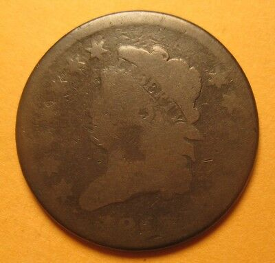 1813 Classic Head Large Cent (S-292/R2) – Original & Nice !