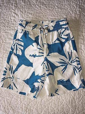 Gap Boys Tropical Boardshorts Swim Trunks Size 4 5 XS extra small EUC!