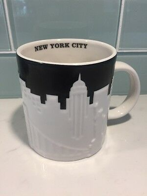 Starbucks New York City Icon Relief Global Mug Collectors Series 2012 Excell