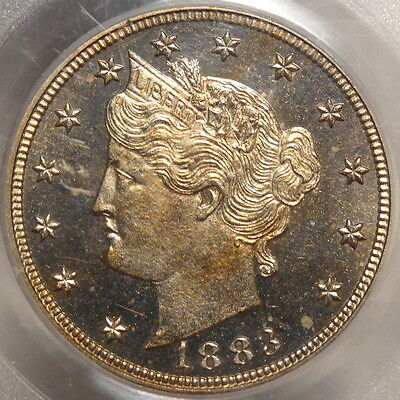 1883 With Cents Liberty Nickel, PCGS PR-64CAM, Old Holder, ON SALE