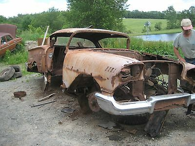 1958 Chevrolet Impala IMPALA 1958 CHEVROLET IMPALA CLAY CORAL PINK ROUGH RUSTY OLD CLEAR PAPERS  OLD SCHOOL