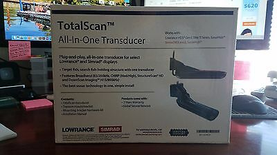Total Scan All In One Transducer-Brand New