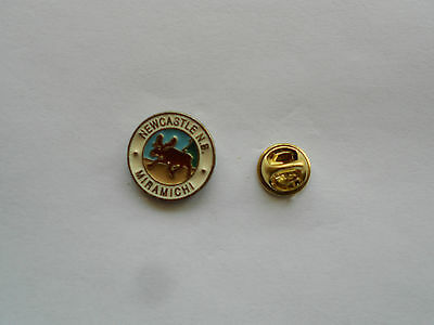 Former Town Of Newcastle N.B. pin