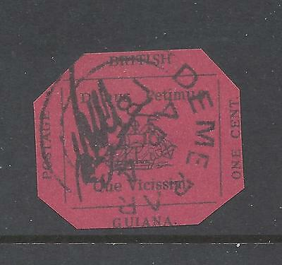 Worlds Rarest Stamp British Guiana Facsimile front and back scans  c08 03 02