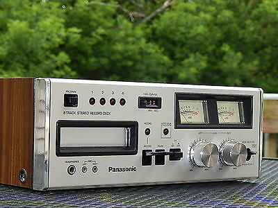 Panasonic RS-808 8 Track Tape Deck Player Recorder -  PROFESSIONALLY SERVICED