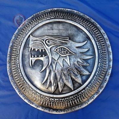 Stark Shield Direwolf RESIN Cosplay LARP