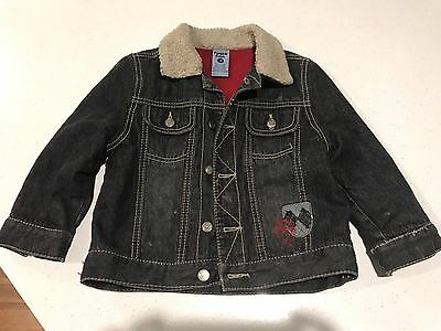 Boys Pumpkin Patch Jacket Size 3 Fleece Lined
