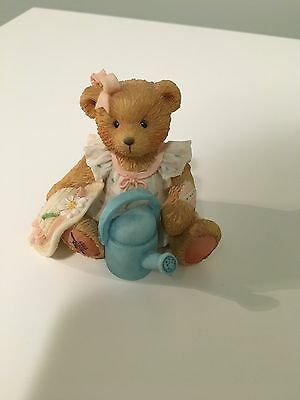 Cherished Teddies Planting The Seed Of Friendship June Bear - Enesco 1993