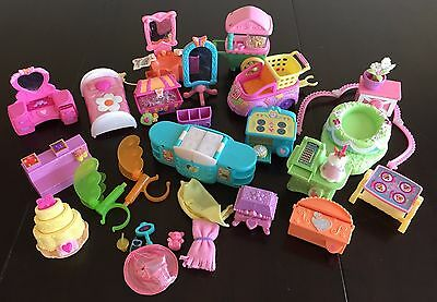 My Little Pony LOT OF G3 (2003-2007) PLAYSET PIECES, FURNITURE