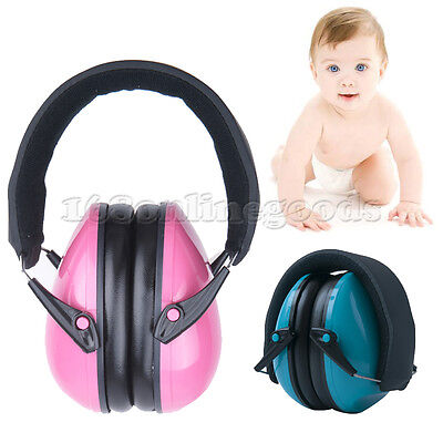 New Baby Children's Earmuffs Hearing Protection - Blue for ages 2 - 10 Years AU
