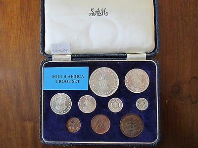 =Excellent= British South Africa Short Proof Set - 1952 - 300Th Anniversary