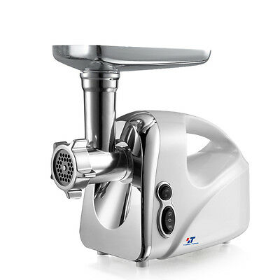 110V 1600W Electric Meat Grinder Stainless Steel Inductrial Kibbe Sausage Making