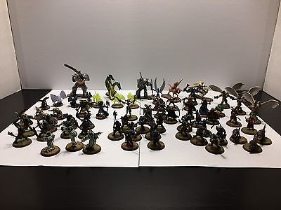 Heroscape Figures Lot, 36 Characters And Squads