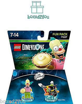 Lego Dimensions THE SIMPSONS - KRUSTY AND CLOWN BIKE  Brand New