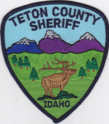 IDAHO Bear Lake County Sheriff patch, colorfull scene