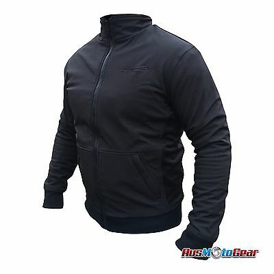 Motorcycle Soft Shell Textile Jacket Hoody Reinforced DuPont™Kevlar® Lined