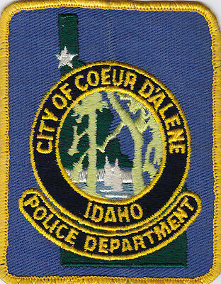 IDAHO Coeur D'Alene Police patch,   trees