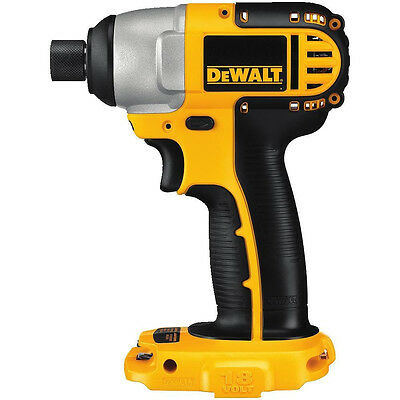 DEWALT 1/4-Inch 18V Cordless Impact Driver Tool Compact Variable Speed NEW