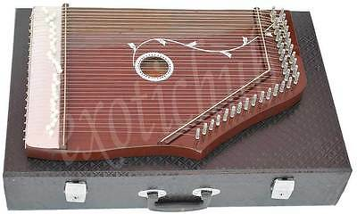 Swarmandal~Surmandal~Harp~With Tuning Key And Carry Box