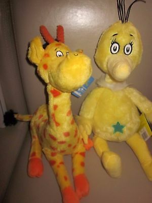 New Kohl's Dr. Seuss The Sneetches Plush Soft And to Think that I Saw Mulberry