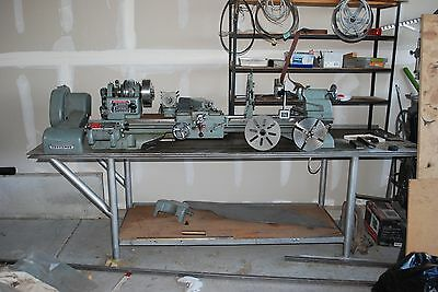 "Vintage Craftsman 12"" Metal Lathe 101-28910 with tons of extras!"