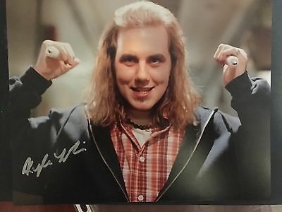 Kyle Labine hand signed 10x8 photo of the actor