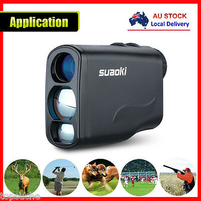 Suaoki 600M Pro Handheld Laser Rangefinder 6x Zoom for Golfing Hunting Portable