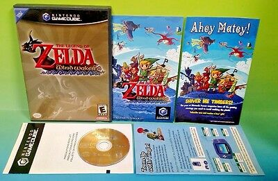 Legend of Zelda: The Wind Waker - Nintendo GameCube NGC Tested Rare  Complete !