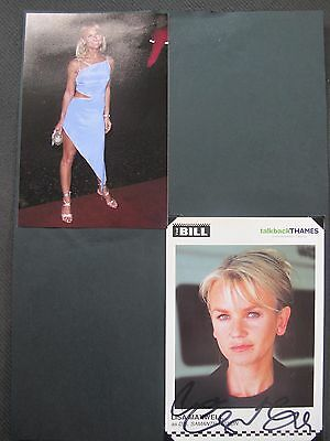 """Lisa Maxwell hand signed autograph """"The Bill"""""""