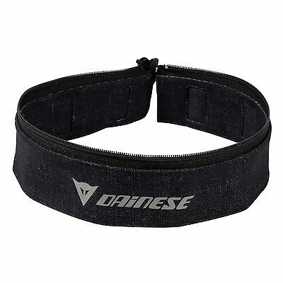 Dainese Union Evo Motorcycle Jacket To Jeans Textile Connection Belt In Black