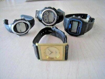 Lot of 4 Men's watches Casio, Ambassador, B J Sport, and Turner Sport