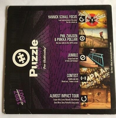 skateboard DVD, Puzzle