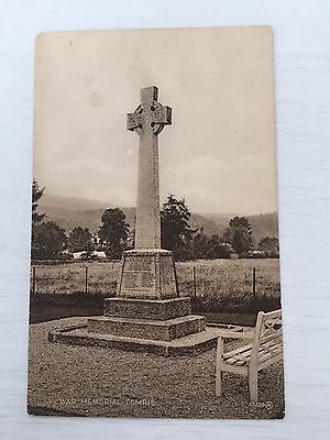 Comrie War Memorial Scotland