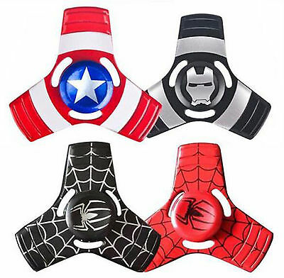 mental Gyro Hand Spinner EDC Focus ADHD Autism The Avengers Spider man