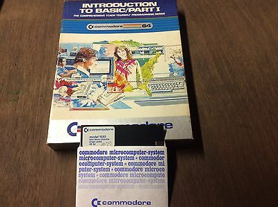 Vintage Commodore 64 Introduction To Basic Part 1