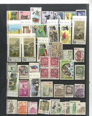 Lot 45 Timbres Anciens Formose Chine  Asie Asia