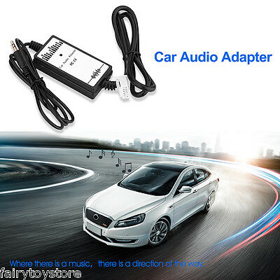 Toyota 2X6P Aux In  Audio Adapter 3.5mm Auto MP3 Player Interface Adapter Cable