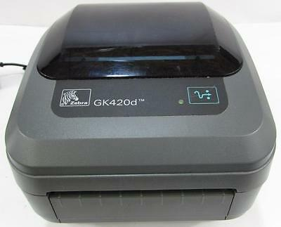 ZEBRA GK420d GK42-200210-000 Thermal Label Printer USB Ethernet  LOT QTY