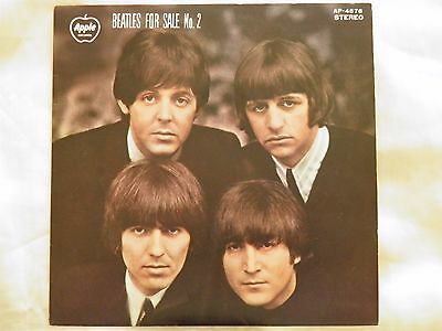 "The Beatles - Beatles For Sale No.2. 1970 Japan 7"" 1st Press EP. AP4576. EX+"