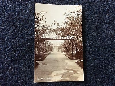 Wombwell Cemetery, Nr Barnsley, Excellent Real Photo Postcard,