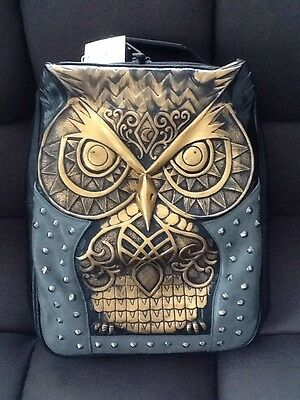 Stunning Owl Backpack New With Tags