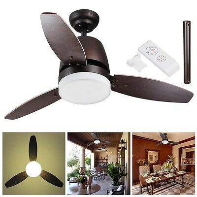 42-in Rubbed Bronze Flush Mount Indoor Ceiling Fan with Light Kit and Remote